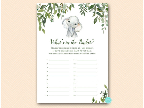 tlc663-whats-in-the-basket-cute-elephant-baby-shower-game
