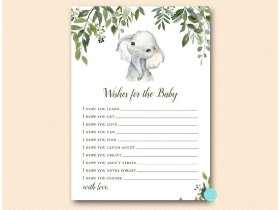 tlc663-wishes-for-baby-card-cute-elephant-baby-shower-game