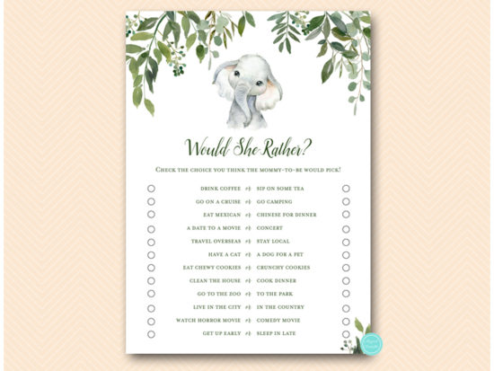 tlc663-would-she-rather-cute-elephant-baby-shower-game
