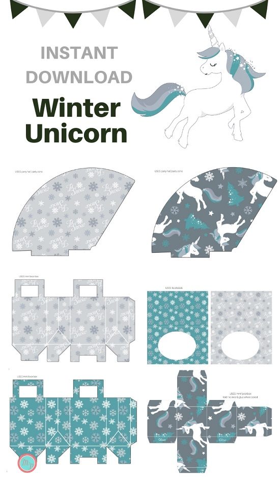 bp664-winter-unicorn-party-printable-download