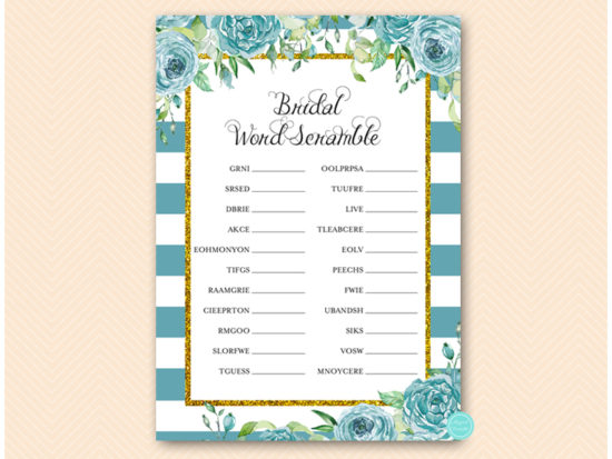 bs588t-scramble-bridal-teal-gold-bridal-shower-game