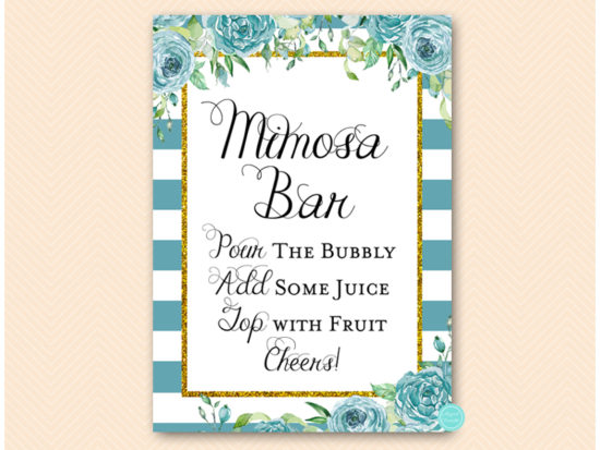 bs588t-sign-mimosa-bar-teal-gold-bridal-shower-game