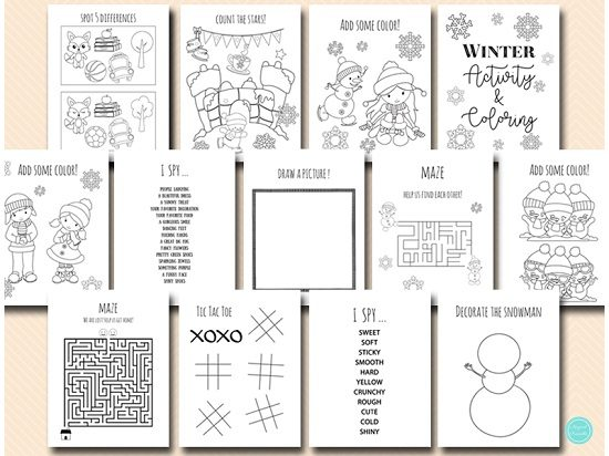 winter-wedding-activity-and-coloring-for-kids-table-fun-pages