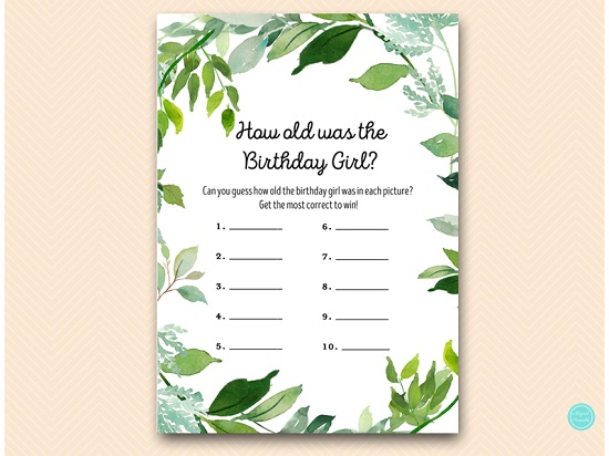 how-old-was-birthday-girl-greenery-botanical-party