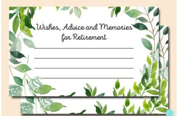 retirement-advice-greenery-botanical-party