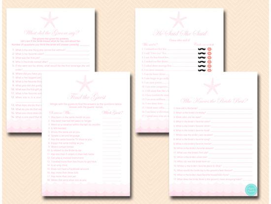 pink-beach-bridal-shower-game-package-starfish-shells