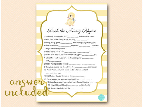 tlc672-finish-nursery-rhyme-quiz-rubber-duck-baby-shower-easter