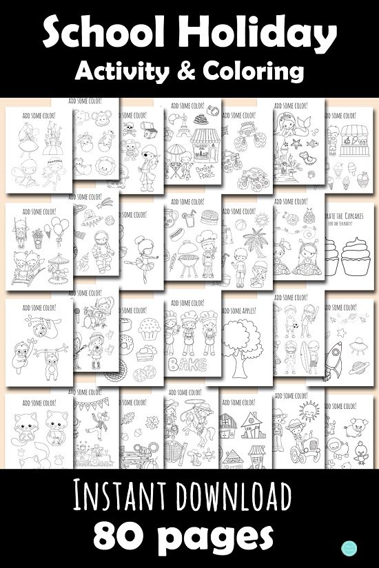 school-holiday-break-activities-and-coloring-book-printable-downloads