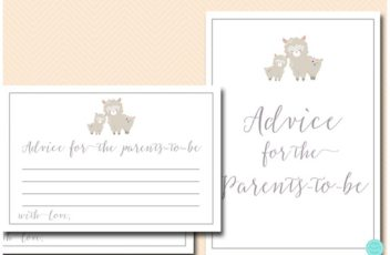 advice-for-parents-card-llama-baby-shower