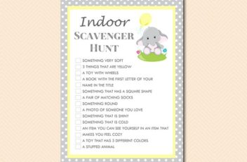gray-yellow-elephant-indoor-at-home-games-signature-bingo-scavenger-hunt