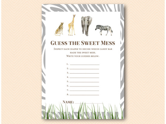 tlc674-sweet-mess-card-african-wild-baby-shower-game