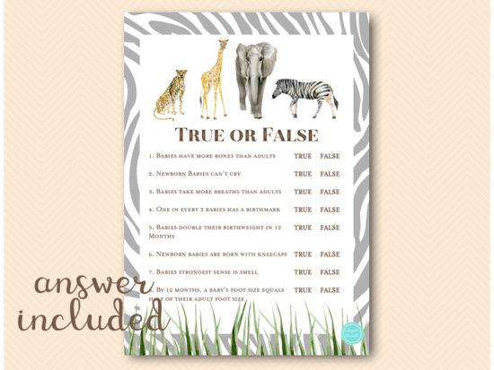 tlc674-true-or-false-trivia-african-wild-safari-baby-shower-game