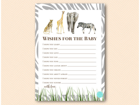 tlc674-wishes-for-baby-card-african-wild-safari-baby-shower-game