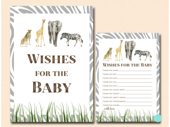 tlc674-wishes-for-baby-sign-african-wild-safari-baby-shower-game