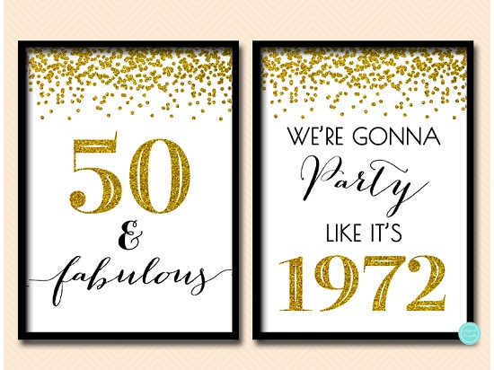 bp155-sign-50-fabulous-we-are-gonna-party-like-its-1972