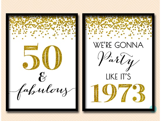 bp155-sign-50-fabulous-we-are-gonna-party-like-its-1973