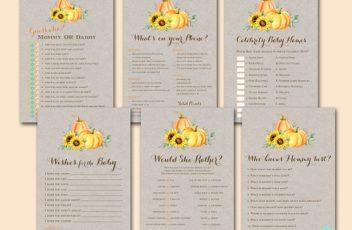 sunflower-little-pumpkin-baby-shower-game-pack