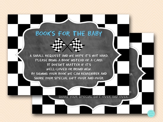 chalkboard-racing-car-baby-shower-books-for-baby-blue
