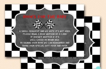 chalkboard-racing-car-baby-shower-books-for-baby-red