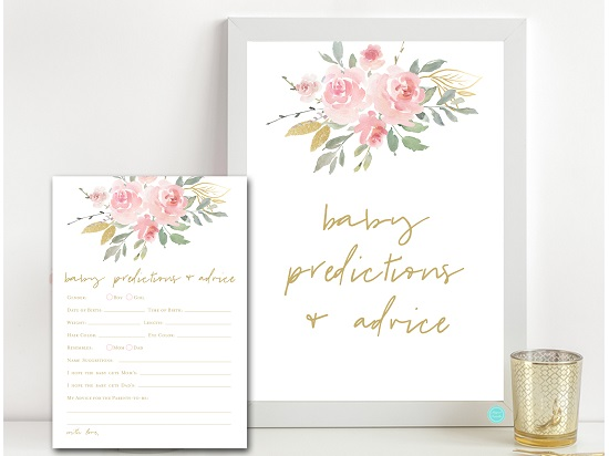 tlc685-prediction-advice-sign-pink-blush-and-gold-baby-shower