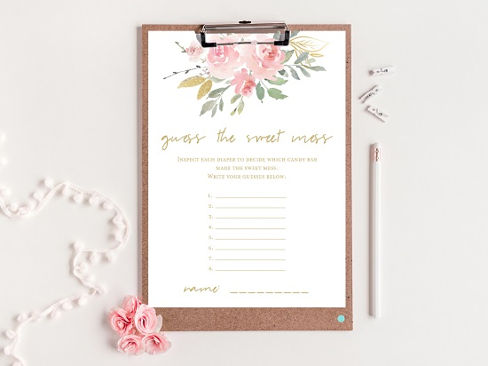 tlc685-sweet-mess-card-pink-blush-and-gold-baby-shower