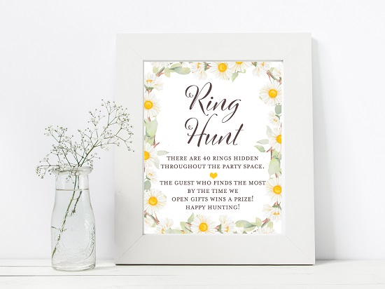 bs691-ring-hunt-spring-daisy-theme-bridal-shower