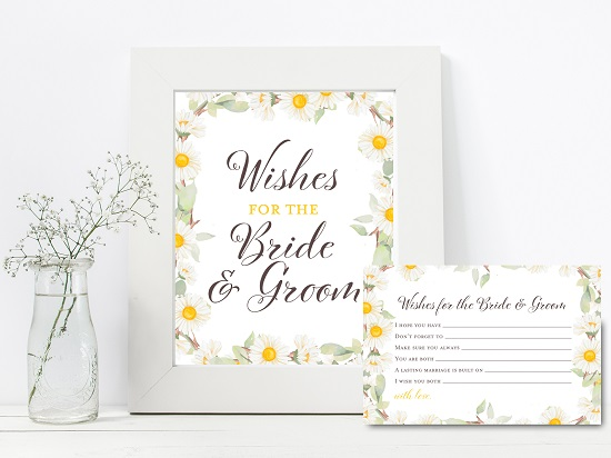 bs691-wishes-for-bride-groom-sign-spring-daisy-theme-bridal-shower