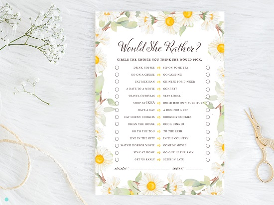 bs691-would-she-rather-both-spring-daisy-theme-bridal-shower