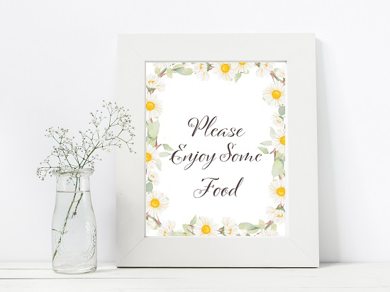 sn691-food-spring-daisy-themed-table-signs