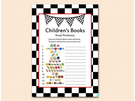 tlc113-emoji-game-checkered-racing-car-baby-shower-game
