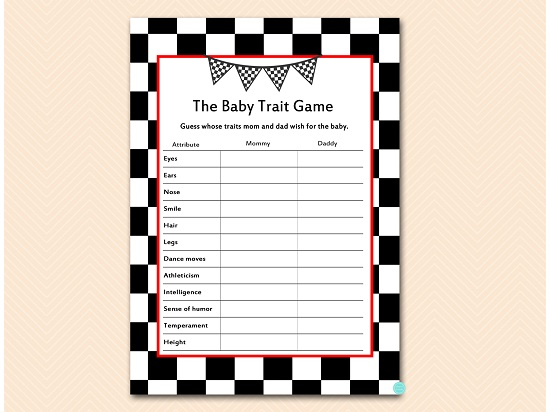 tlc113-trait-game-checkered-racing-car-baby-shower-game