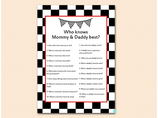 tlc113-who-knows-daddy-mommy-best-checkered-racing-car-baby-shower-game