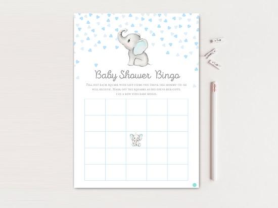 tlc689-bingo-gray-blue-elephant-baby-shower