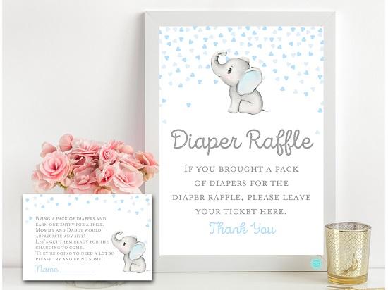 tlc689-diaper-raffle-sign-gray-blue-elephant-baby-shower