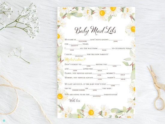 tlc691-mad-libs-baby-spring-daisy-themed-baby-shower