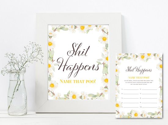 tlc691-shit-happens-sign-spring-daisy-themed-baby-shower