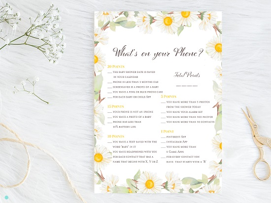 tlc691-whats-on-your-phone-spring-daisy-themed-baby-shower