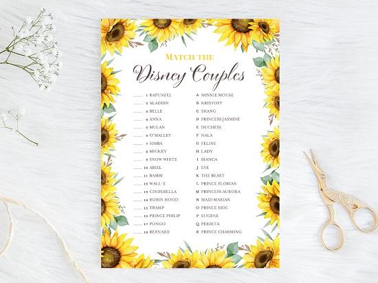 disney-couple-match-quiz-sunflower-theme
