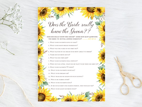 does-bride-really-know-groom-sunflower-theme
