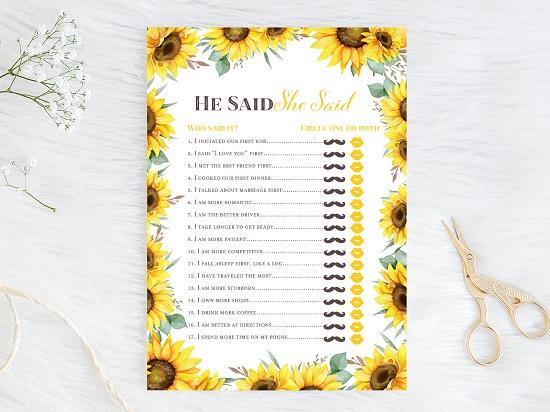 he-said-she-said-bridal-sunflower-theme-bridal-shower