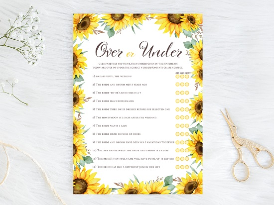 over-or-under-sunflower-theme-bridal-shower