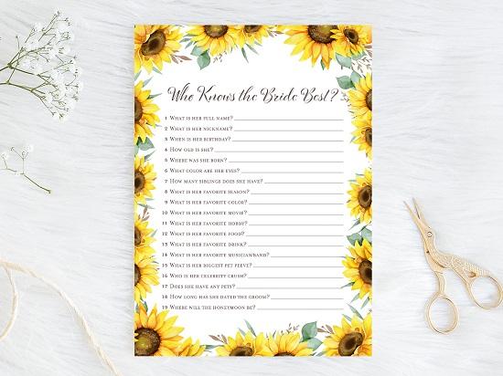 who-knows-bride-best-sunflower-theme-bridal-shower