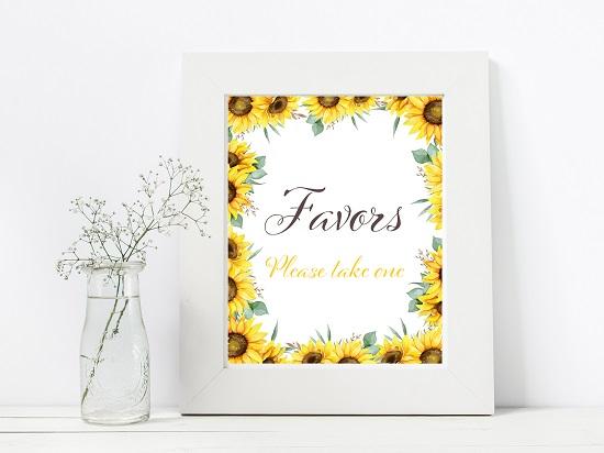 sn694-favors-sunflower-theme-sign