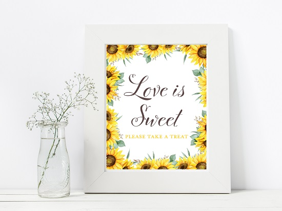 love-is-sweet-sunflower-theme-sign