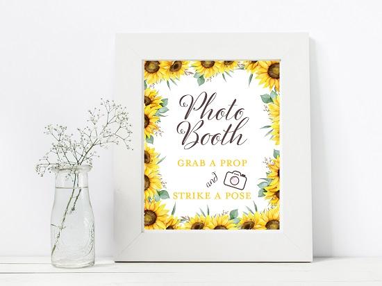 photobooth-sunflower-theme-sign