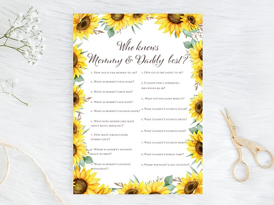 who-knows-mommy-daddy-best-sunflower-theme-baby-shower