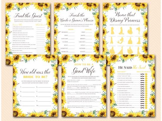 sunflower-themed-bridal-shower-game-templates
