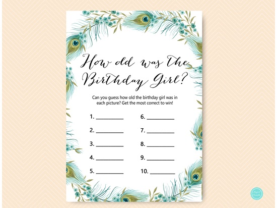 bs462-how-old-was-birthday-girl-peacock-birthday-party-game