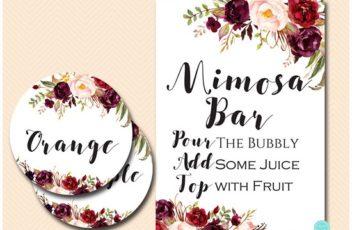 boho-burgundy-mimosa-bar-sign