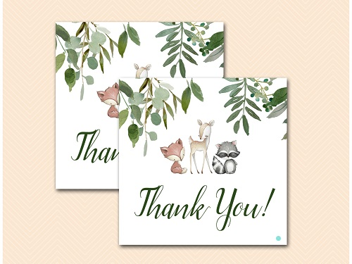 woodland-baby-shower-thank-you-tags
